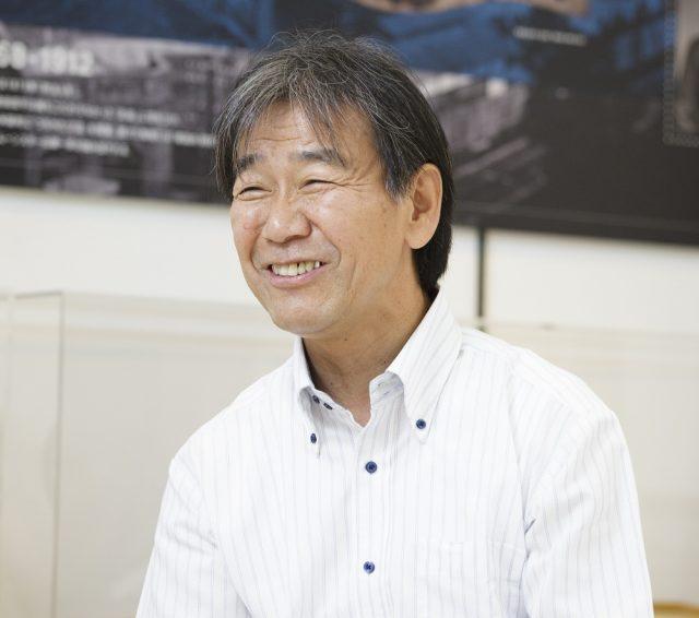 ムーンスター執行役員 工場・技術・品証担当 山中康博氏