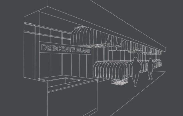 スニーカー&スポーツライフスタイルの最新トレンドを発信「デサント ブラン」北海道1号店が札幌に10月14日オープン